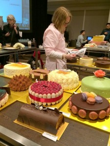 Cake Set up 80 Cakes for jacques Pepin