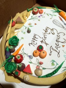 Della Gosset Spago 80 Cakes for Jacques Pepin event