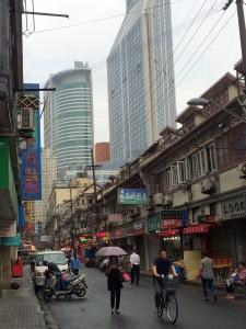 Shanghai Longtang or Lane up clos