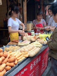 Shanghai Street Food Bunds and Bread