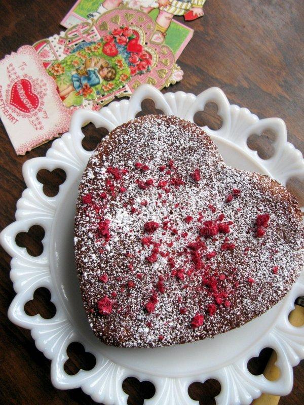 Rose Almond Butter Cake