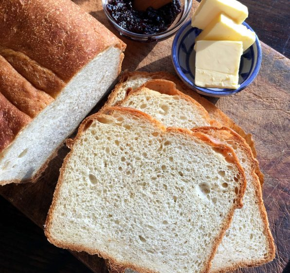 Butter Topped Toasting White Sandwich Bread