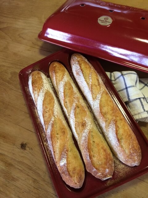 Country Baguette in Emile Henry mold