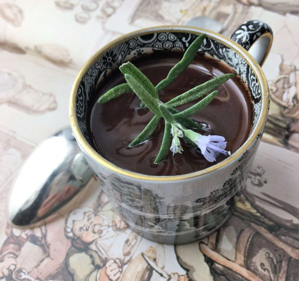 Chocolate Rosemary Cream