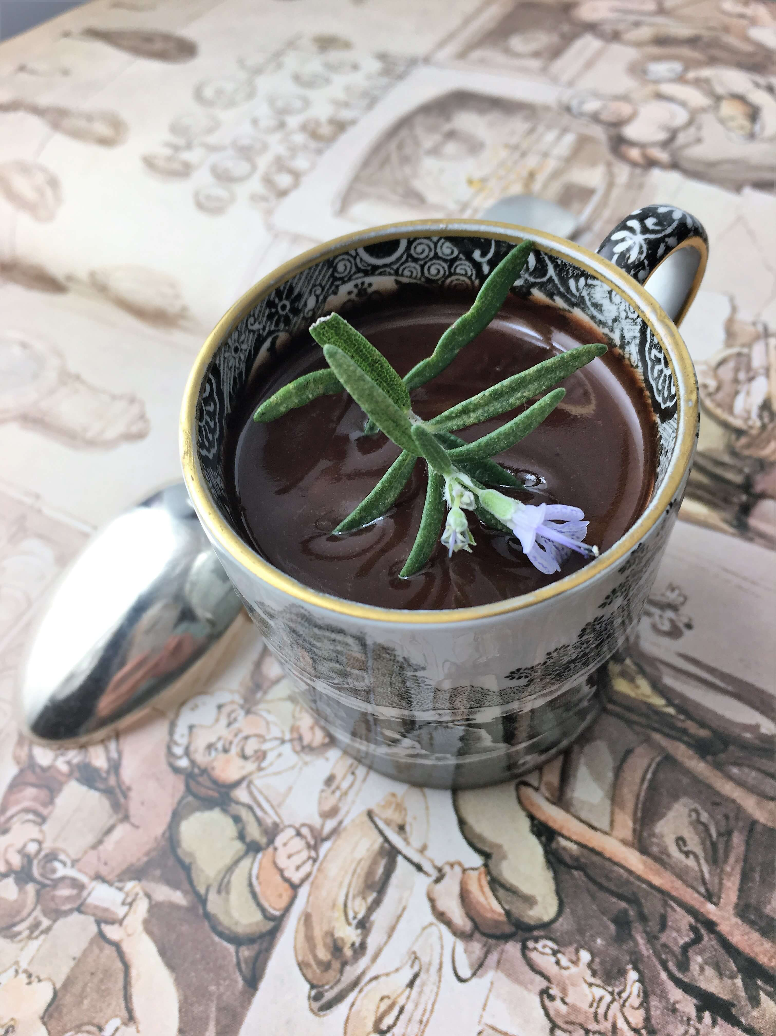 Chocolate Rosemary Cream
