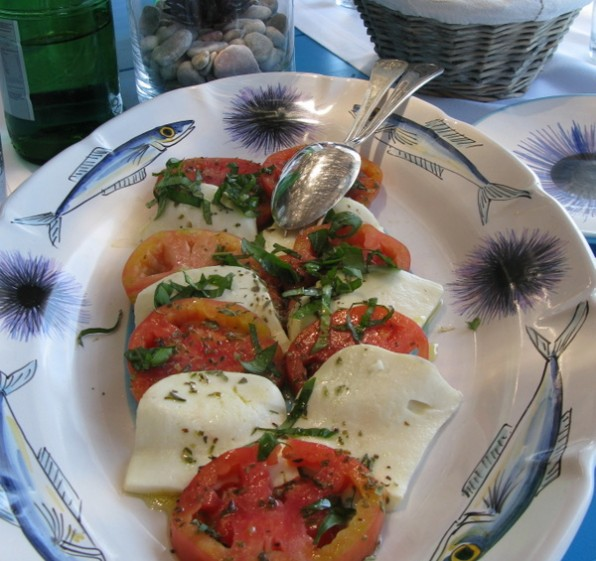 Authentic Salad Caprese