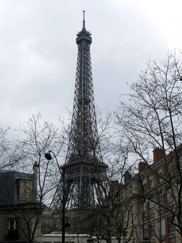 Paris on a gray day.