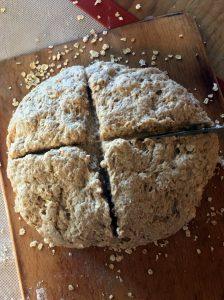 Scoring Irish Wheaten Bread