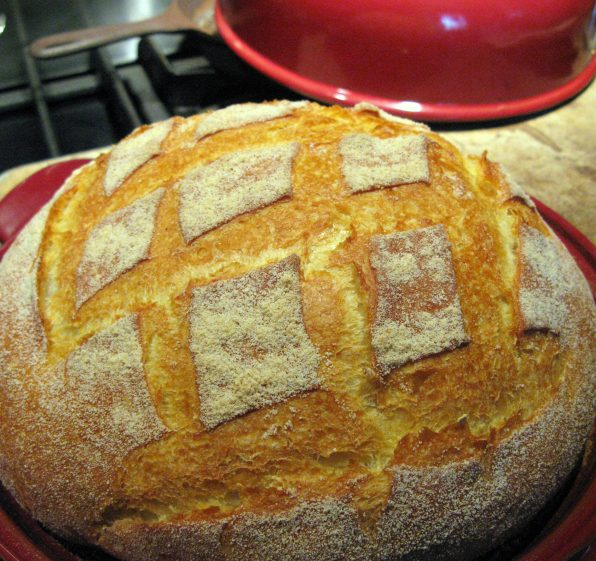 Bread from Emile Henry Bread Cloche
