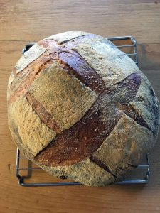 Country Wheat and Rye Boule