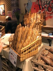 Gorgeous basket of baguettes Best baguette New York 2019
