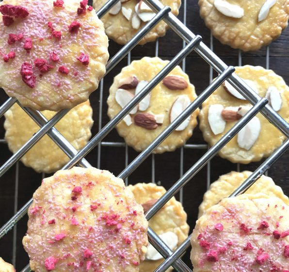 Almond Sablé Cookies
