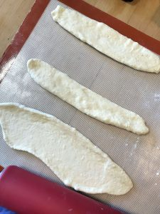 Flatten with rolling pin