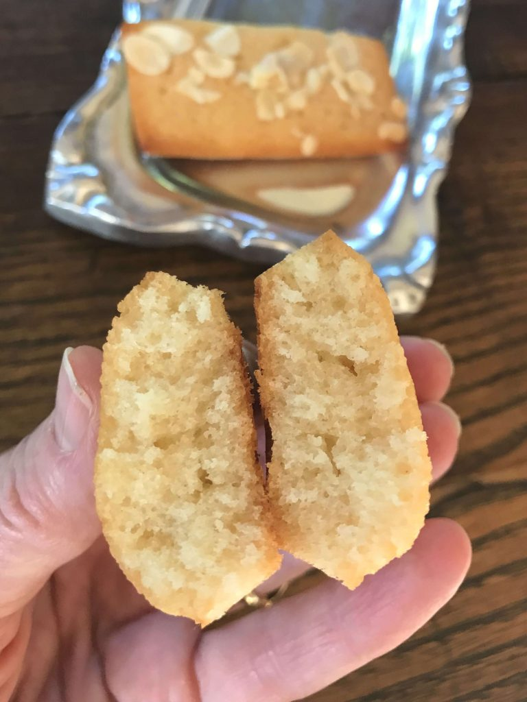 Almond Financier crumb