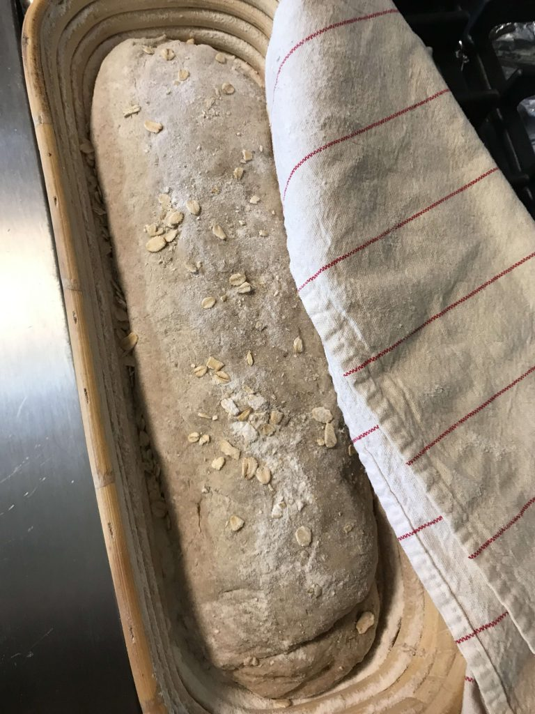 Stour Bread before proofing