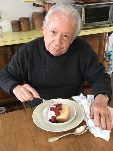 My best customer for white wine butter cake