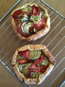 Zucchini and Tomato Tartlets
